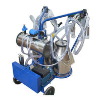 stainless steel cow milking machine anti resistance
