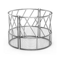 Galvanized or painted hay feeder for livestock wholesale