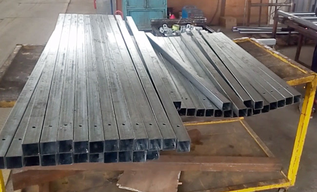 wholesale cattle panels welding process