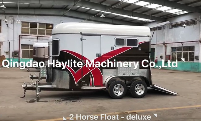 Desing performance horse trailer