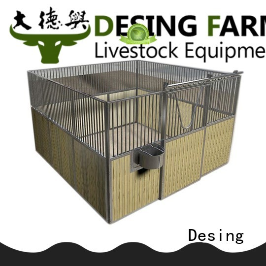 Desing horse stable galvanized excellent quality
