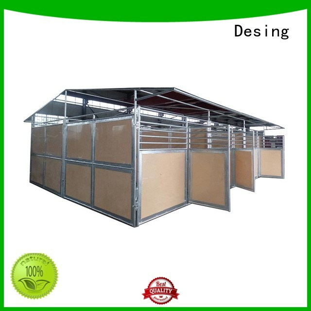 Desing unique custom horse stable easy-installation excellent quality