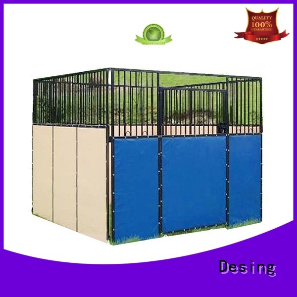 Desing horse stable quality assurance