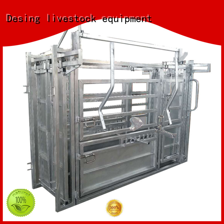 cattle working chute cost-effective for livestock