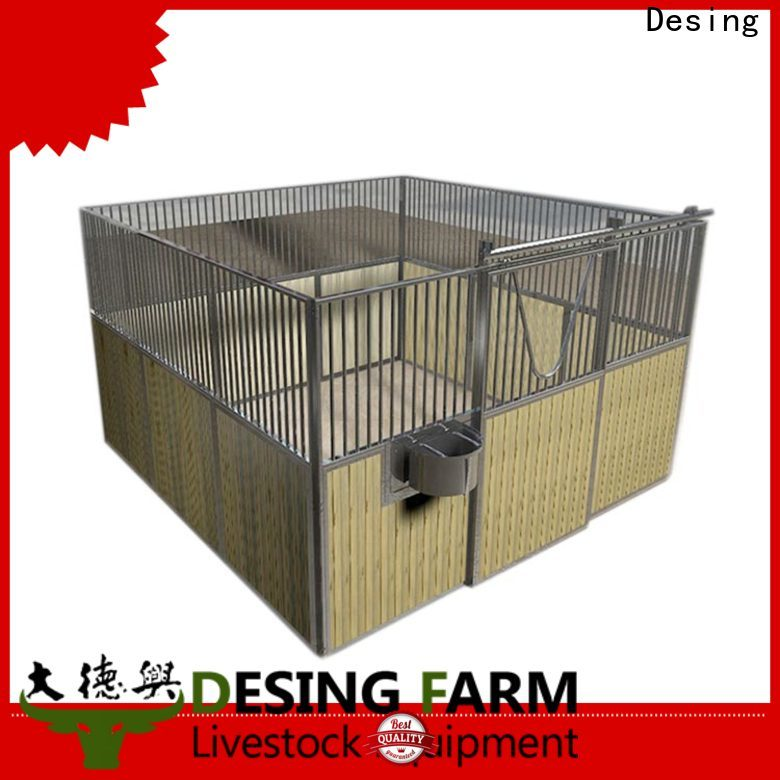 Desing custom horse stable stainless fast delivery