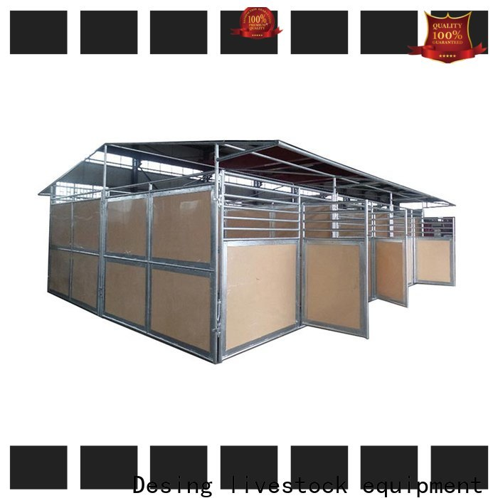 Desing portable horse stables galvanized excellent quality