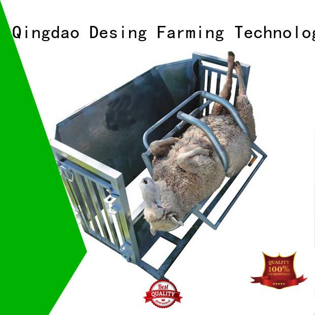 Desing sheep loading ramp adjustable high quality